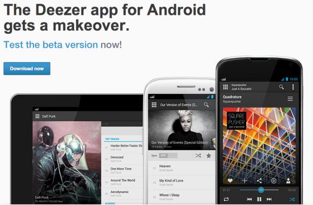 android deezer beta