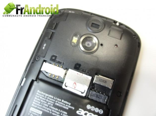 android acer liquid e1 prise en main 12