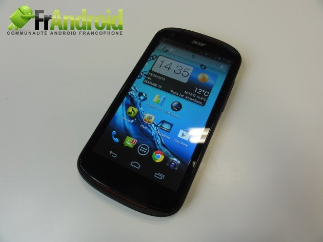 android acer liquid e1 prise en main 14
