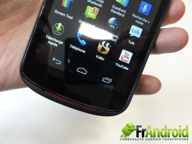 android acer liquid e1 prise en main 3