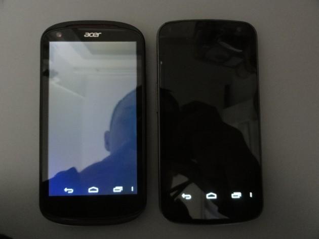 android acer liquid e1 qualité écran 2