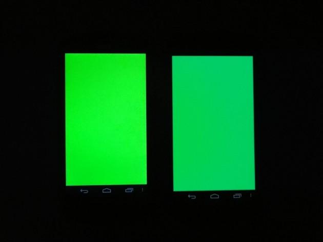 android acer liquid e1 qualité écran 4