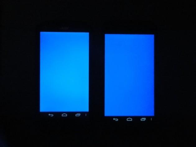 android acer liquid e1 qualité écran 5