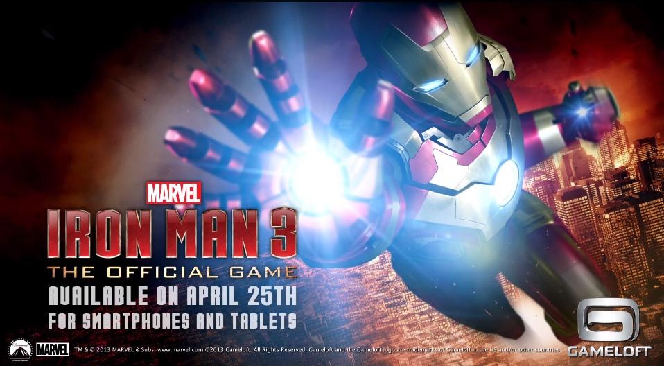 iron man 3 le prochain jeu de gameloft sera un free2play - Jeux D Iron Man