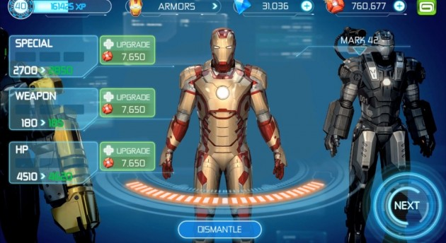 android gameloft iron man 3 image 2