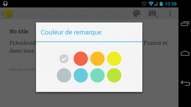 android google keep 1.0.79
