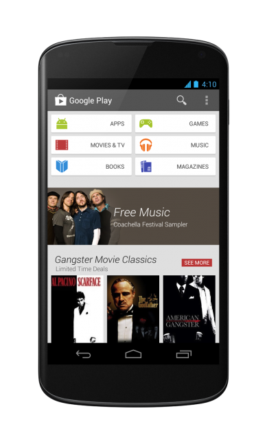 android google play 4.0