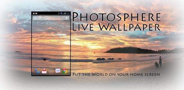 android photosphere live wallpaper image 0