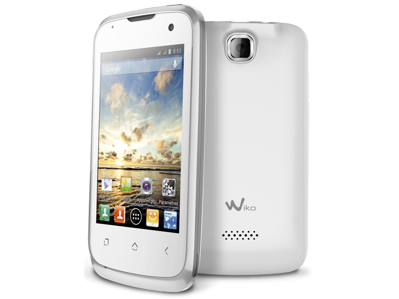 wiko cink un mobile de 3 5 et dual core avec android 4 1 99 euros. Black Bedroom Furniture Sets. Home Design Ideas