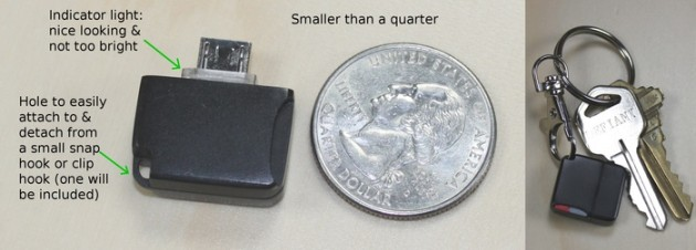 androidmini microsd reader size