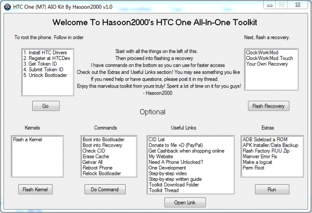htc one (m7) aio kit toolkit by hasoon2000