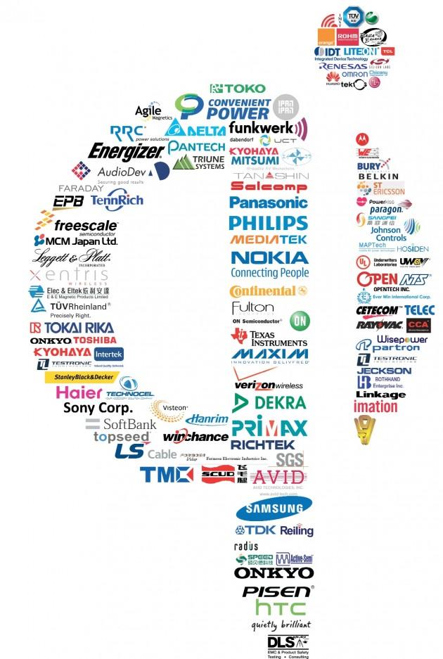 logo technologie sans fil qi chi chee