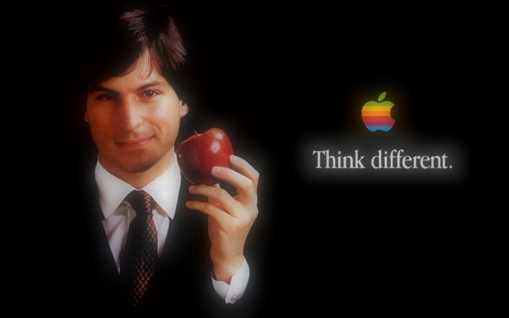 Steve Jobs dans une publicité pour Apple