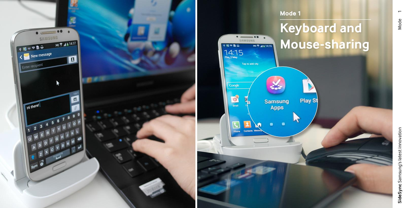 """SideSync : """"contrôlez"""" votre smartphone depuis votre PC"""