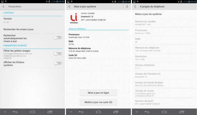 android 4.1.2 emotionui 1.5 huawei ascend mate