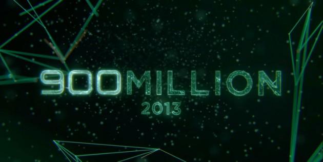 android 900 millions d'actions de terminaux mobiles en 2013