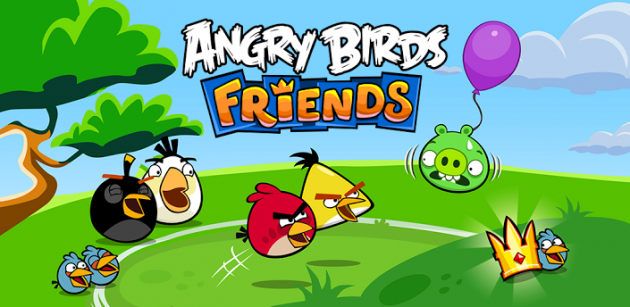 android angry birds friends