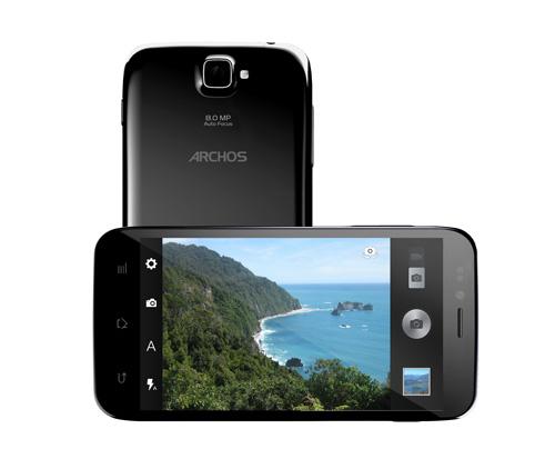 android archos platinium 50