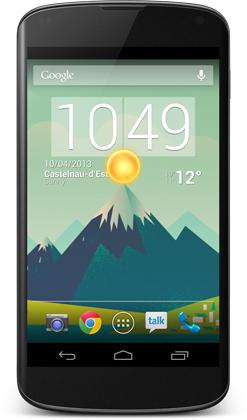 android beautiful widgets gratuit image 1