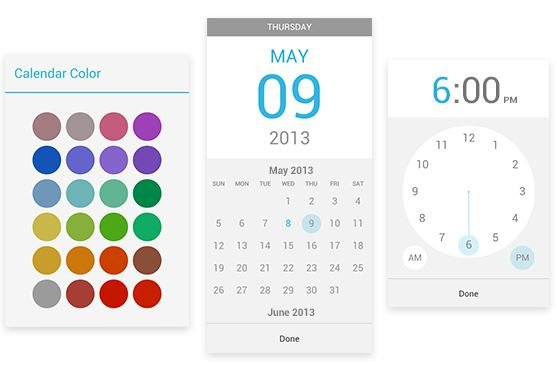 android google calender google agenda mai 2013