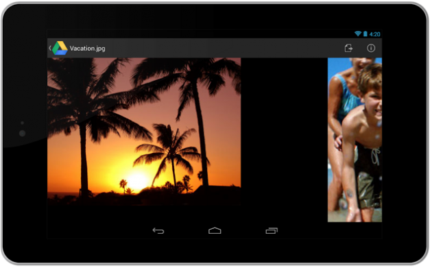android google drive 1.2 image 2