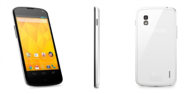 android google lg nexus 4 blanc white