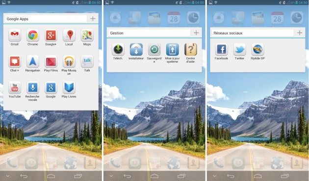 android huawei ascend mate applications 2