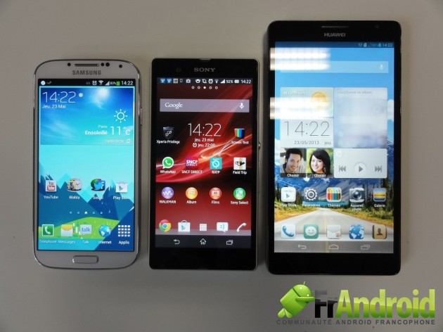 android smartphone huawei ascend mate 18
