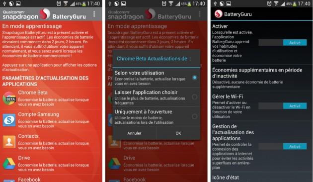 android snapdragon batteryguru 0