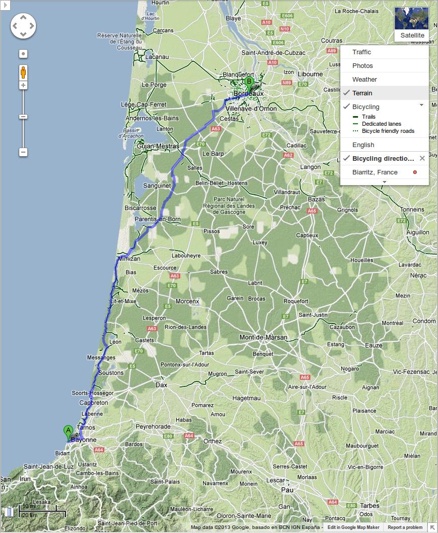 google-maps-biarritz
