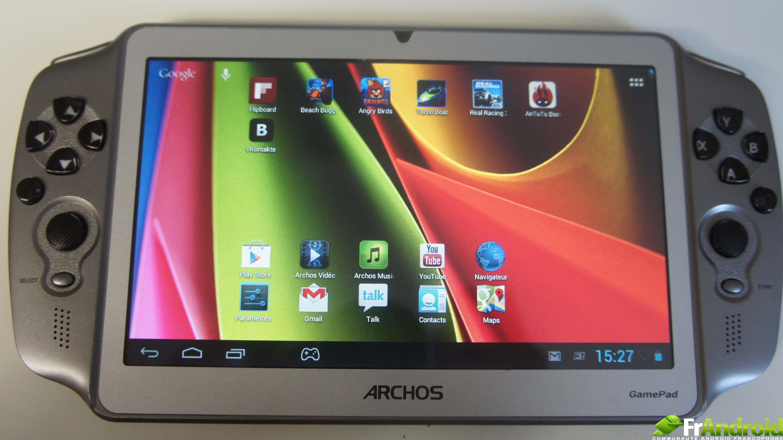 test  de la gamepad darchos une console jeu portable sous android