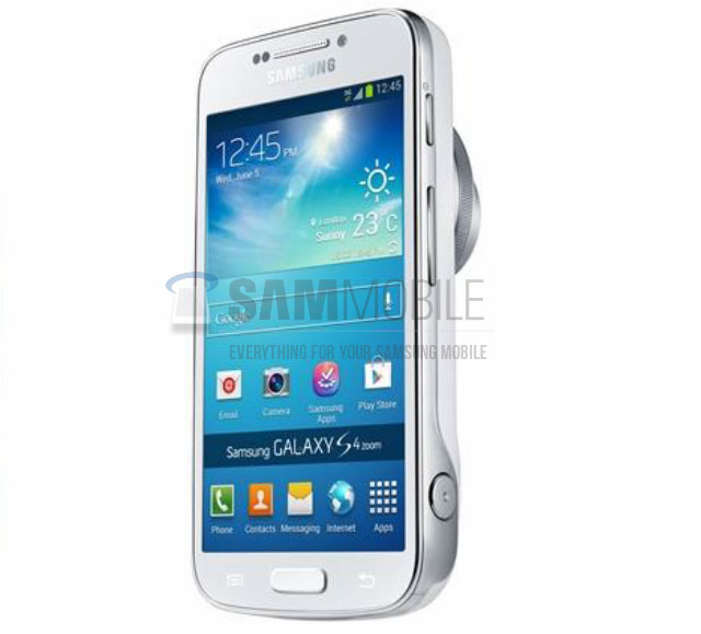 Photos du Samsung Galaxy S4 Zoom