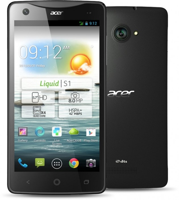 acer liquid s1 press shot