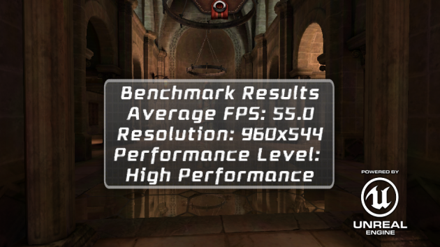 android acer liquid e2 benchmark epic citadel
