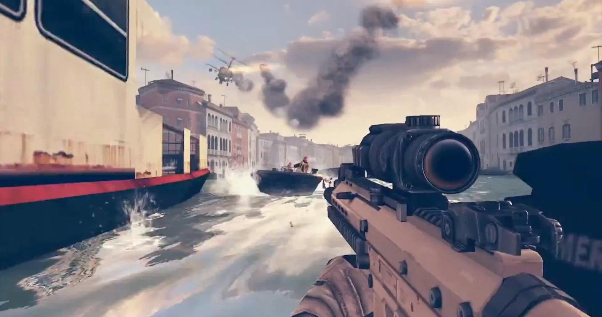 E3 2013] Un premier trailer de Modern Combat 5 !