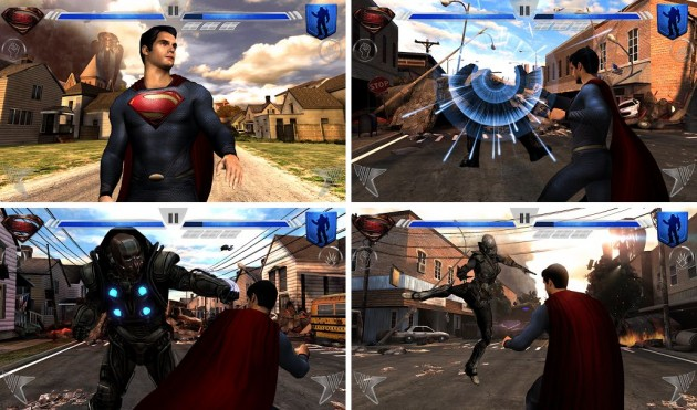android man of steel superman screenshots 0