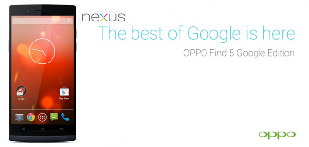 android oppo find 5 google edition