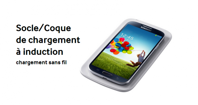 android socle coque de recharge sans-fil samsung galaxy s4