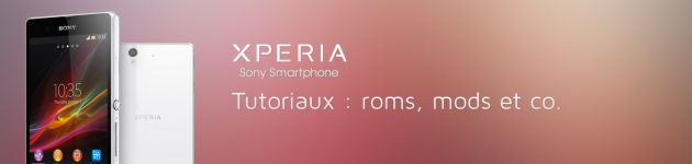 android sony xperia z tutoriel tuto tutorial