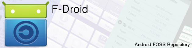 f-droid app store open source
