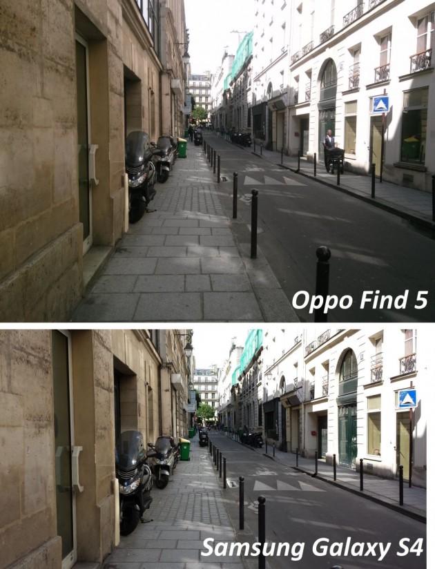 test qualité photo oppo find 5 versus galaxy s4 1