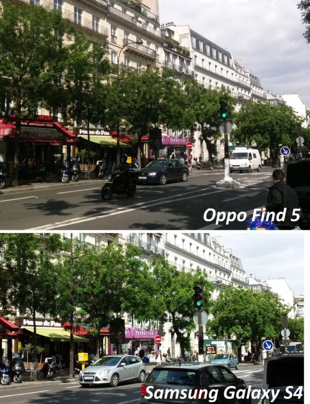 test qualité photo oppo find 5 versus galaxy s4 3