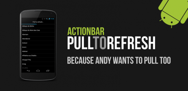 ActionBar-PullToRefresh