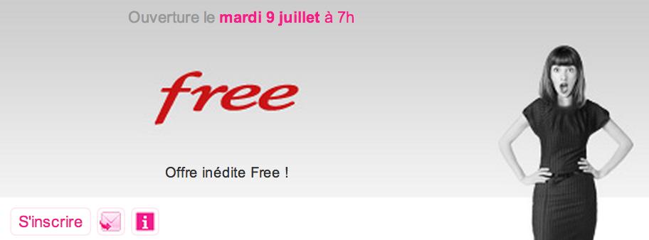 """Free annonce une Vente-Privée """"inédite"""" pour demain"""