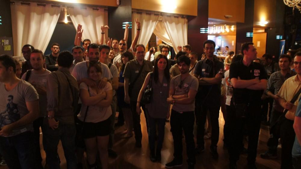 Des participants du BarDroid