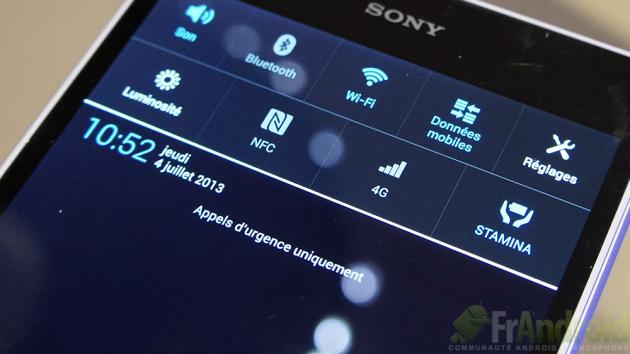Sony-Xperia-Z-Ultra-Parametres-rapides