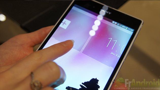 Sony-Xperia-Z-Ultra-Widgets-ecran-verrouillage