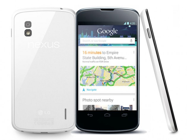 android google lg nexus 4 blanc white rdc topachat grosbill 16 Go