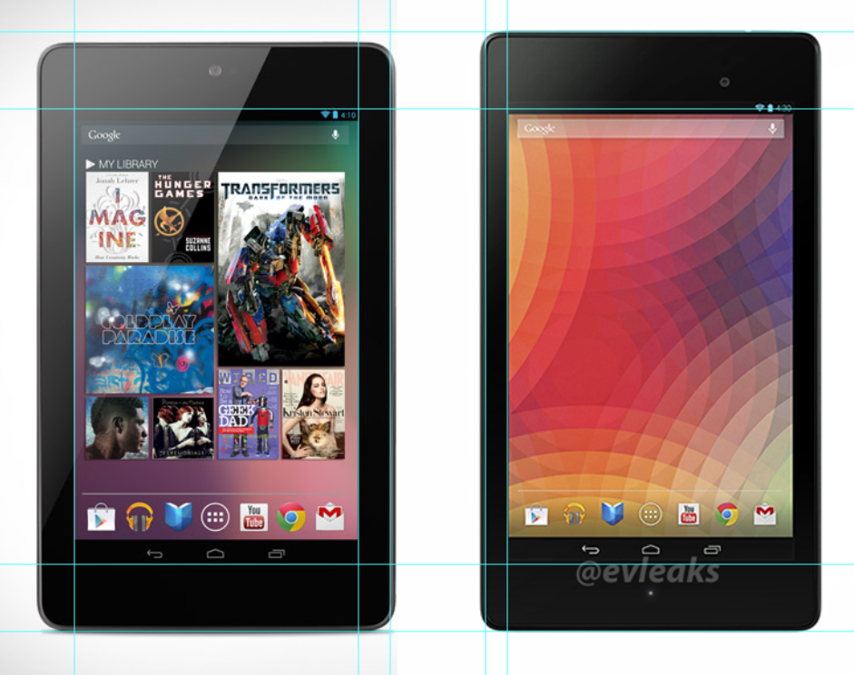 android google nexus 7 vs google nexus 7 2
