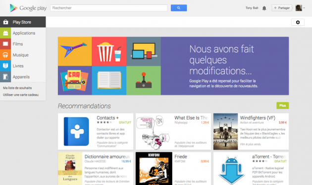 android google play web juillet july 2013 1